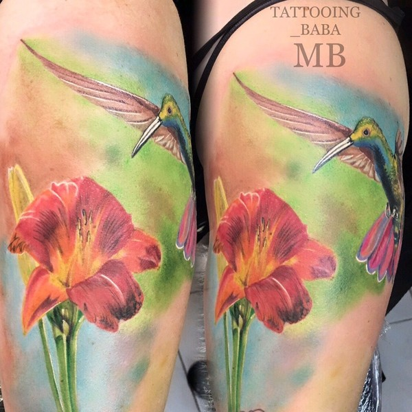 buntes Tattoo